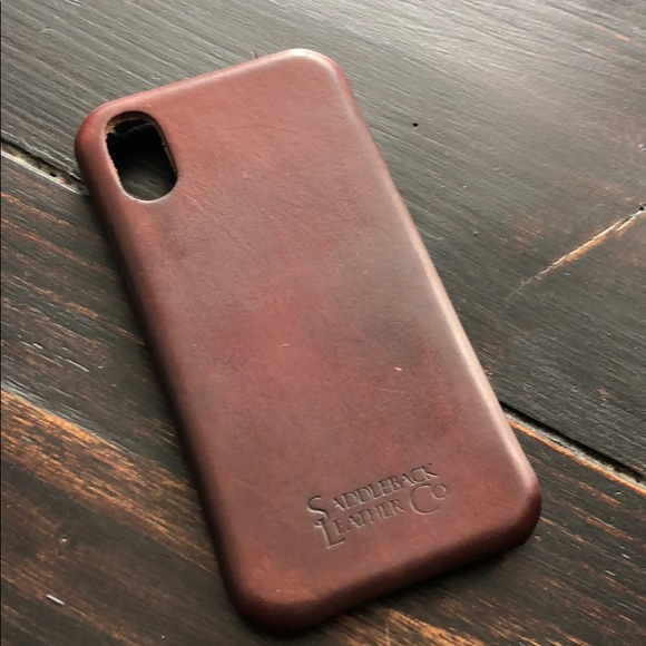 check out 836fb 7f640 Saddleback leather iPhone X XR XS case